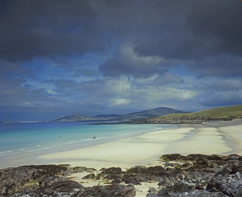 Traigh Iar, in the south west of the Isle of Harris, Western Isles, Scotland.