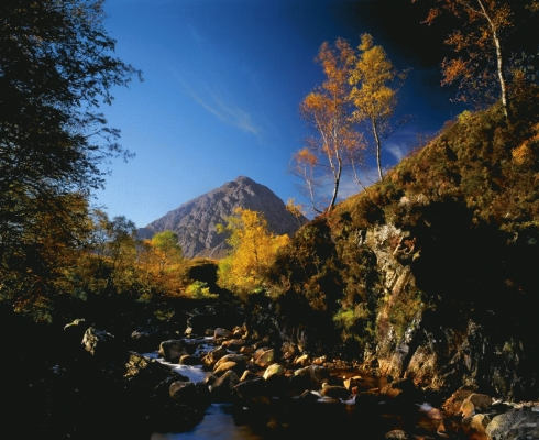 Buchaille Etive Mor in Autumn