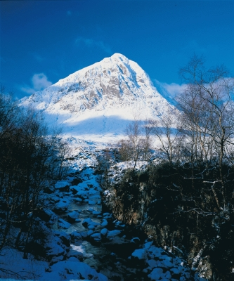Buchaille Etive Mor in Winter