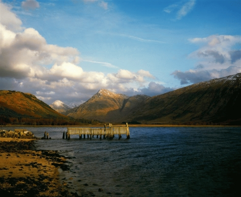 Loch Etive ruined pier