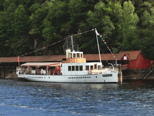The Walter Scott on Loch Katrine