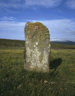 Standing stone, Isle of Harris