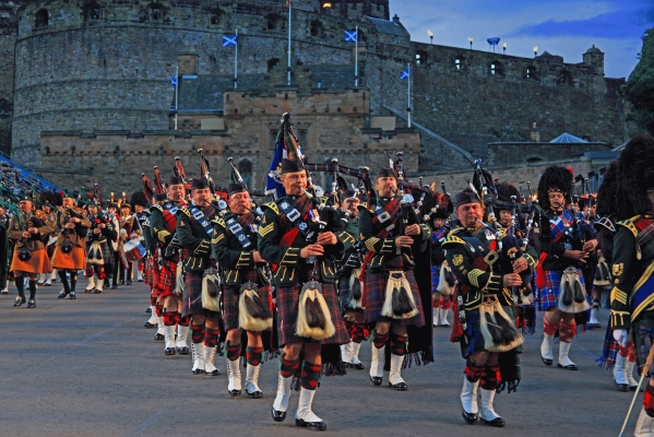 Pipers at the Tattoo