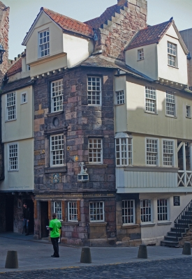 John Knox House, Royal Mile, Edinburgh