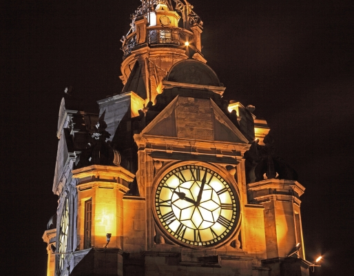 The Clock of the Balmoral Hotel, Edinburgh