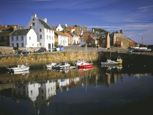 Craill Harbour, Fife