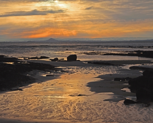 East Lothian coast from Elie Beach.2