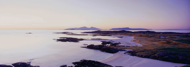 Sanna Bay at sunset, Ardnamurchan peninsula.