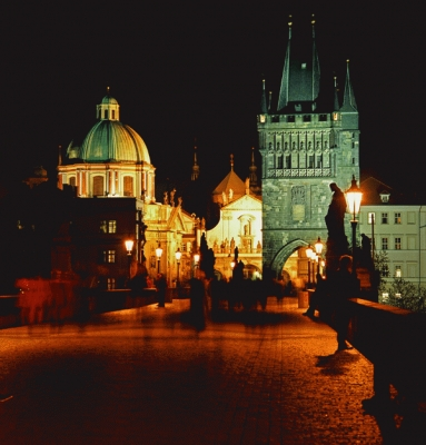 Czech Republic: The Charles Bridge, Prague