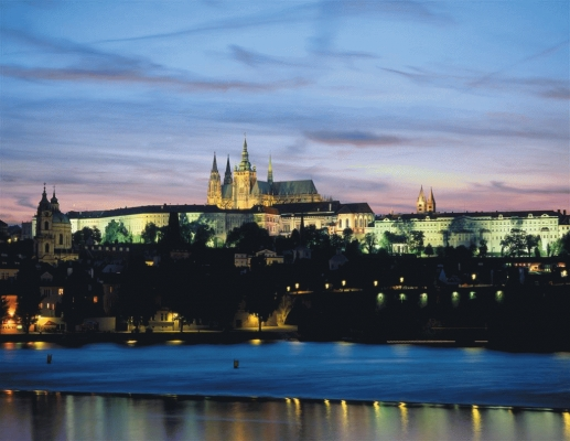 Czech Republic: Charles Bridge and Vltava river 2