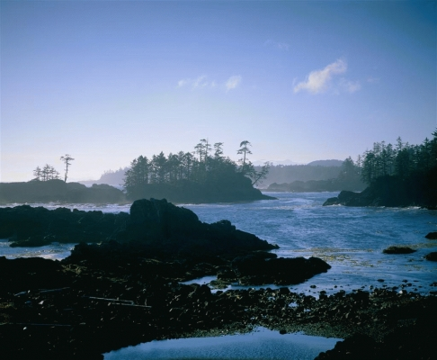 The Pacific at Uclulet, Vancouver Island, British Columbia, Canada
