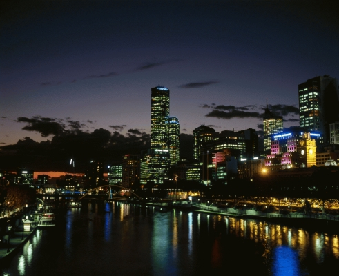 The river Yarra, Melbourne, Victoria, Australia