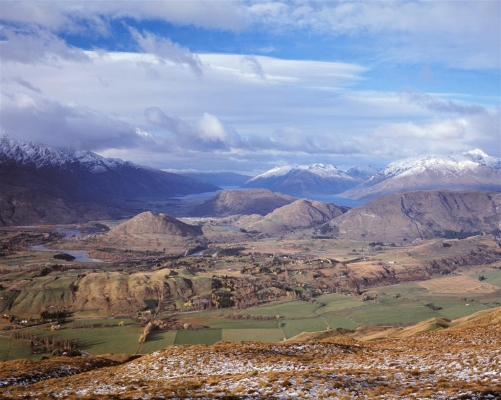 View from Coronet Peak, South Island, N Zealand