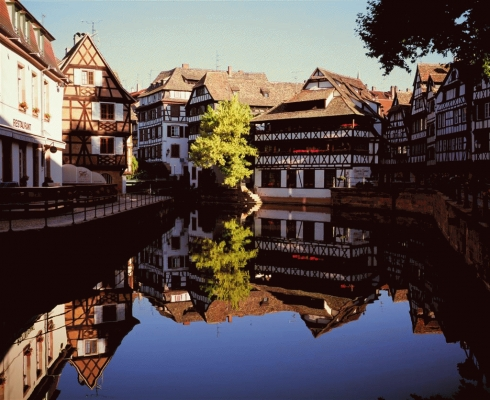 France:The Petite France district of Strasbourg