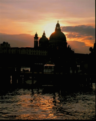 Italy: The Grand Canal and the Salute Church
