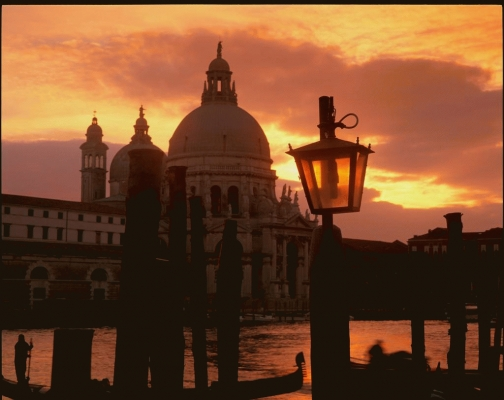 Italy: Venice, The Grand Canal and the Salute Church 2