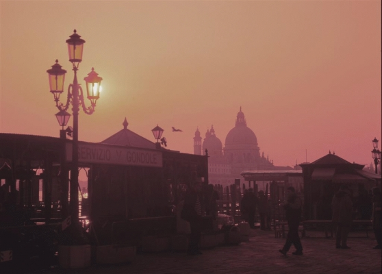 Italy: Venice, The Grand Canal and the Salute Church 3