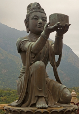Statue at Big Buddha, Hong Kong
