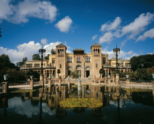 Spain: Museo de Costombres, Seville by day