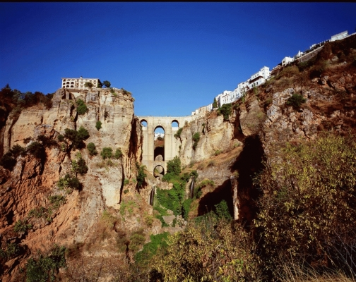 Spain: The city of Ronda, Andalucia