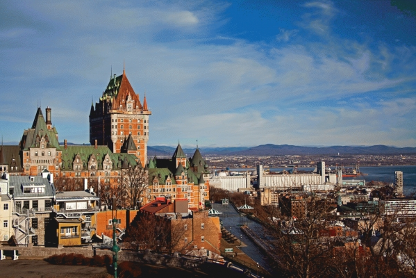 Canada:  Quebec city and the St Lawrence 2
