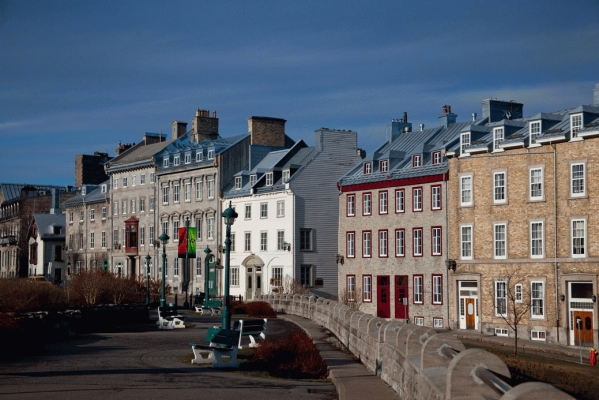 Canada:  Quebec city, the old town