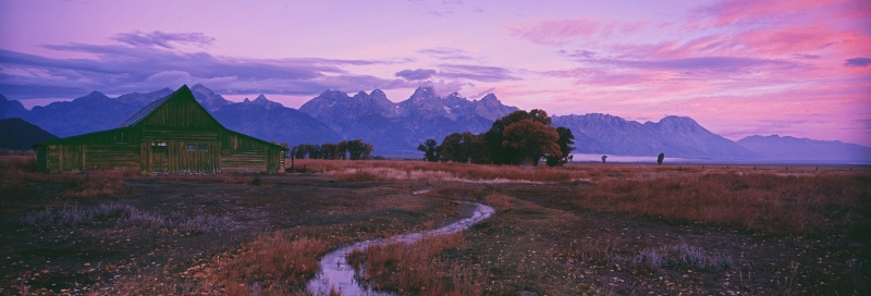 USA: Moulton Barn, Grand Teton National Park, Wyoming.