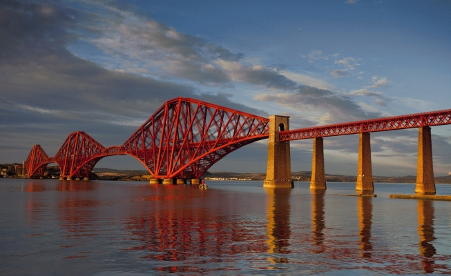 The Forth rail bridge!special new addition