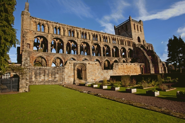 Jedburgh Abbey!special new addition