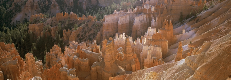 Bryce Canyon Panorama from Inspiration point, Utah, USA