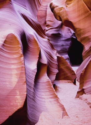 Lower Antelope Canyon, A slot canyon in Arizona, USA