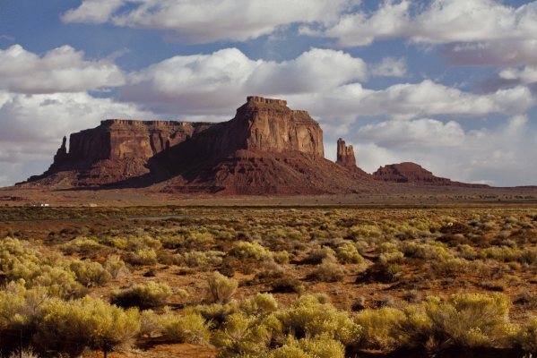 View from near Ford Point, Monument valley, Utah, USA.