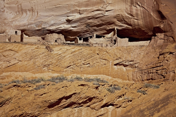 First Ruin rock dwellings, Canyon de Chelly, Arizona, USA