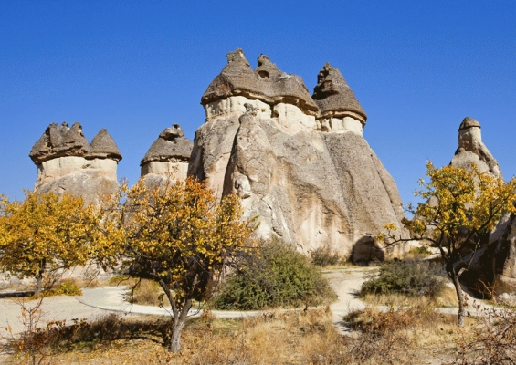 Fairy Chimneys, Capadoccia, Turkey